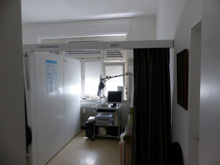 Raum Lungenfunktion EKG